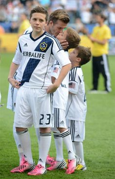 Forget Greyson Chance all I need is number 23 Brooklyn Beckham!!!! And he's only 13!!! Yeah