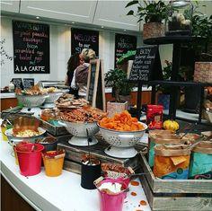 The massive #superbreakfast at #Radissonblu Stockholm! Photo credits to IG @ cindygergeaux