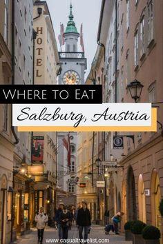 3 Mahlzeiten: Essen in Salzburg, Österreich – MoW Theta Visit Austria, Austria Travel, Germany Travel, Travel Through Europe, Europe Travel Guide, Italy Travel, Croatia Travel, Essen In Salzburg, Salzburg Austria