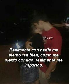 Sad Love, I Love You, Romantic Memes, Crush Love, Quotes En Espanol, Tumblr Love, Love Phrases, Love Images, Spanish Quotes