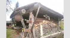 IDEA 2011 -kilpailun voittaja: Huvimaja vanhoista hirsistä Firewood, Crafts, Woodburning, Manualidades, Handmade Crafts, Craft, Arts And Crafts, Artesanato, Handicraft