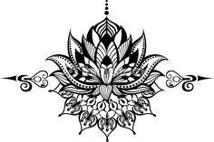 lotus flower pattern - Pesquisa Google