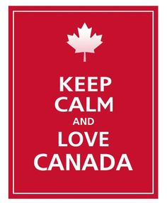 - Love Canada Poster simple as that: Canada Day inspiration: 25 DIY ideas, crafts, printables and recipes for July