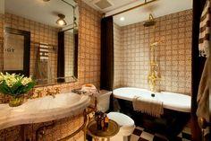 Genieve Gorder bathroom