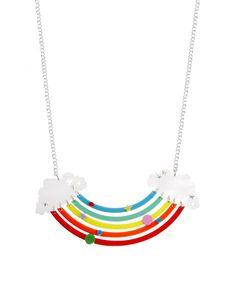 Tatty Devine Rainbow Necklace