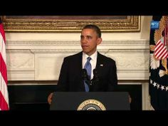 ▶ President Obama Makes a Statement on Iran - YouTube  November 23, 2013.  Historic deal on Iran nuclear program reached in Geneva.  Secretary of State John Kerry and leaders from five other countries have brokered a historic nuclear deal with Iran.