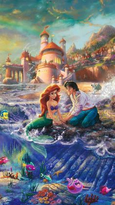 Super Drawing Disney Pixar The Little Mermaid Ideas Disney Magic, Disney Pixar, Disney Dream, Disney Animation, Disney E Dreamworks, Disney Amor, Disney Cartoons, Disney Movies, Walt Disney