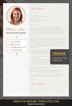 free cover letter template download it here creative resume templatescom - Free Cover Letters Templates