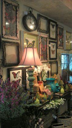 Spring 2013 Display. Lexington Floral, Shoreview, MN.  #Store Displays #Gift Shop #Gift Shop Displays #Home Decor