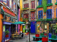 maravilhas coloridas !!!  via Yasser Edessa  fica em Londres,   para quem quiser fazer uma visita  Neal's Yard Salad Bar