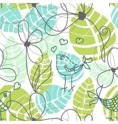 Seamless pattern on VectorStock