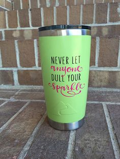 Personalized rambler 20 oz ozark tumbler custom ozark by JustJaKia Tumbler Designs, Mug Designs, Decals For Yeti Cups, Yeti Decals, Glitter Cups, Glitter Tumblers, Ozark Tumbler, Tumbler Quotes, Paint Dipping
