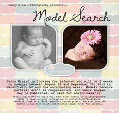Newborn model search in Southern Missouri!