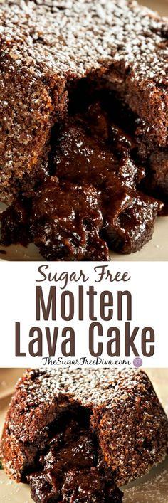 Sugar Free Molten La