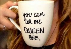 @Jackie Godbold Godbold Godbold Bosko lets make these for each other? with the proper spelling of 'Queen B', obviously.