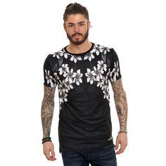 Good For Nothing Calendula T-Shirt - Black - Good For Nothing T-shirts at Reem Clothing UK