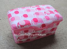 Elephants on Pink Boutique Style Nursery by LauraLeeDesigns108, $14.99