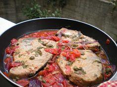Tranci di tonno alla Siciliana   Food Blog