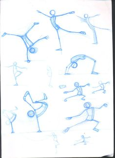 gesture drawing on Behance