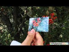 Camera Polaroid Instant Snap Μπλε