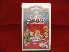 #aliceinwonderland #disney #waltdisney #animation #vhs #video #masterpiece #collection #bonanza