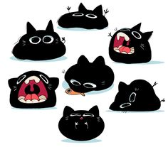 Cat blobs
