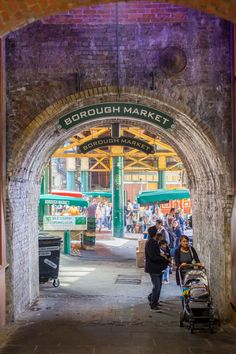 Have a browse through London's Borough Market, it's at its best in Autumn.