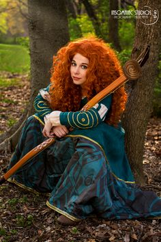 Disney's Merida by Lauren of Thousand Faces Cosplay, Photographer: Insomniac Studios