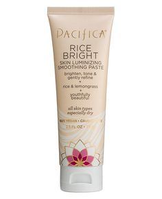Rice Bright Skin Luminizing Smoothing Paste  Our innovative version of an ancient cleansing paste is a simple way to experience the gentle yet extraordinary benefits of rice powder; beloved for its brightening and cleansing properties. To intensify the benefits, we have added rice extract and natural lemongrass powder, which is known as an effective skin toner that can help diminish the appearance of pores. Love glowing and brighter skin.