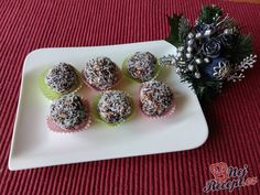 Christmas Goodies, Christmas Baking, Sushi, Muffin, Breakfast, Ethnic Recipes, Chocolate Candies, Morning Coffee, Muffins