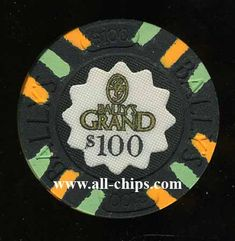 #AtlanticCityCasinoChip of the Day is a BAG-100 $100 Ballys Grand 1st issue.  This is a very Rare chip.  Im sorry not for sale.  Just for show.  I have thousands of Atlantic City Chips for sale on www.all-chips.com. #CasinoChip