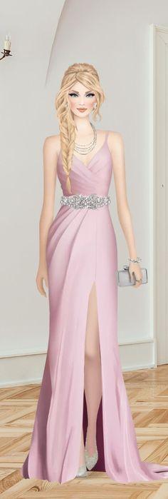 Covet Fashion, Formal Dresses, Girls, Polyvore, Fashion Drawings, Templates, Long Prom Dresses, Ballroom Dress, Kawaii Drawings