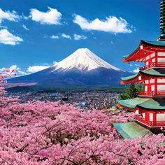 Japanese Nature, Japanese Landscape, Cool Landscapes, Beautiful Landscapes, Monte Fuji Japon, Landscape Photos, Landscape Photography, Japanese Mountains, Fuji Mountain