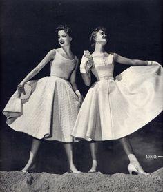 Vestidos años 50