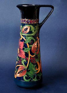 Moorcroft Pottery Earthly Paradise JU3 Limited Edition 75 Rachel Bishop #Moorcroft http://www.bwthornton.co.uk/moorcroft.php