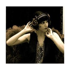 The Roaring 20's, Flapper Girls, The Speak Easy and no clue as to what... ❤ liked on Polyvore