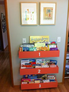 Restored Style    Little bookshelves for boys room.. Could I find someone to make these?