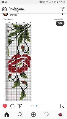 Cross Stitching, Embroidery, Cross Stitch Rose, Crochet Dolls, Crocheting Patterns, Cross Stitch Embroidery, Railings, Hand Embroidery, Celtic Cross Stitch