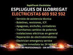 Electricistas ESPLUGUES DE LLOBREGAT 603 932 932 Baratos