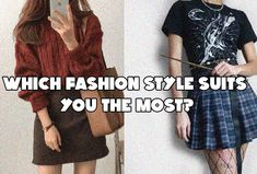 Take this style Quiz and find Which Fashion Style Suits You The Most Aesthetic Quiz, Aesthetic Clothes, What Is My Aesthetic, What Colours Suit Me, Personal Style Quiz, Buzzfeed Style, Types Of Fashion Styles, Fashion Style Quiz, Playbuzz Quizzes
