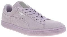 Womens lilac puma suede mono iced trainers from Schuh - £55 at ClothingByColour.com Puma Suede, Summer Colors, Shoe Shop, Kid Shoes, Lilac, Trainers, Footwear, Man Shop, Boots