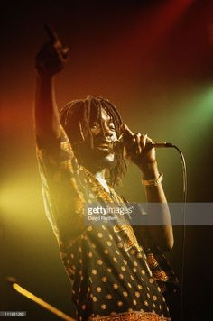 *Peter Tosh* 1980. More fantastic pictures and videos of *The Wailers* on: https://de.pinterest.com/ReggaeHeart/ ©David Redfern/ gettyimages.de