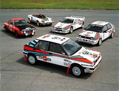 Lancia Rallye History by Auto Clasico, via Flickr