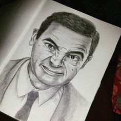 Drawingg by me #mr. Bean
