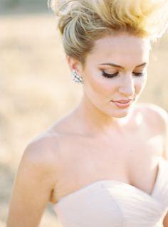 Wedding day makeup - smokey bronze - Ryan Ray for Mag Rouge