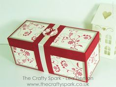 Elegant Presentation Gift Box with Flowering Flourishes from Stampin' Up! | The Crafty Spark