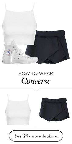 """perrie insp"" by littlemixmakeup on Polyvore featuring Topshop and Converse"