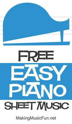 Check Out Our Large Collection of Industry-Leading Quality Easy Piano Sheet Music (Level from the Ranked Site for Elementary Music Education. Piano Songs For Beginners, Beginner Piano Music, Easy Piano Sheet Music, Free Sheet Music, Piano Lessons, Music Lessons, Pop Rock Songs, Christmas Sheet Music, Music Songs