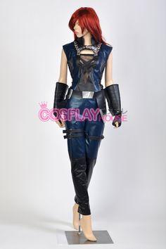 Marvel Comics Cosplay -- Guardians of the Galaxy - Gamora Cosplay Costume Version 01