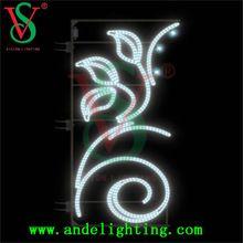 Factory price city 2D led decoration pole motif light Christmas decorations street light outdoor led street decorative light